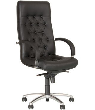 Кресло руководителя FIDEL LUX steel chrome