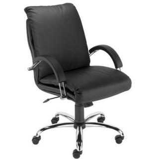 Кресло руководителя NADIR steel LB chrome