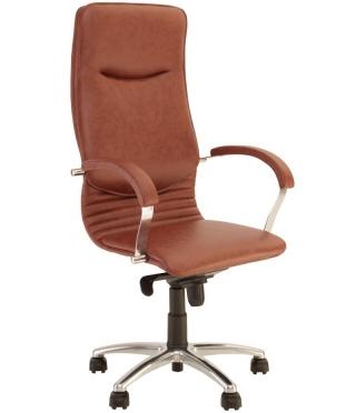 Кресло руководителя NOVA steel chrome
