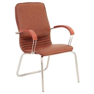 Конференц-кресло NOVA wood CFA LB chrome