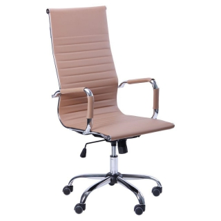 Кресло Slim HB кожзам бежевый