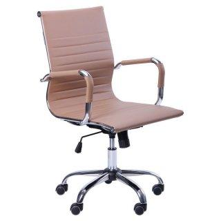 Кресло Slim LB кожзам бежевый
