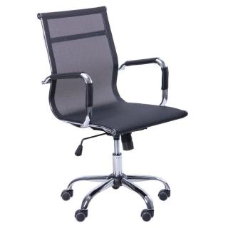 Кресло Slim Net LB сетка чёрный