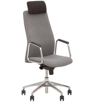 Кресло руководителя SOLO HR steel