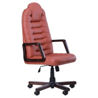 Кресло Тунис экстра кожзам коричневый