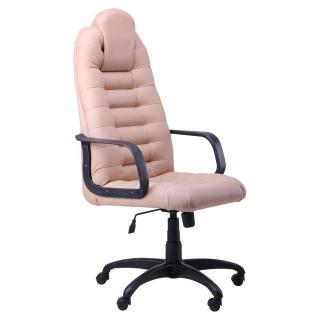 Кресло Тунис пластик бежевый кожзам