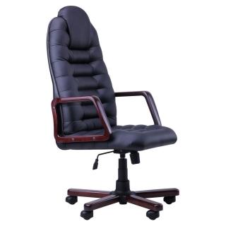 Кресло Тунис экстра кожзам чёрный