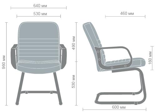 Размеры кресла Чинция CF