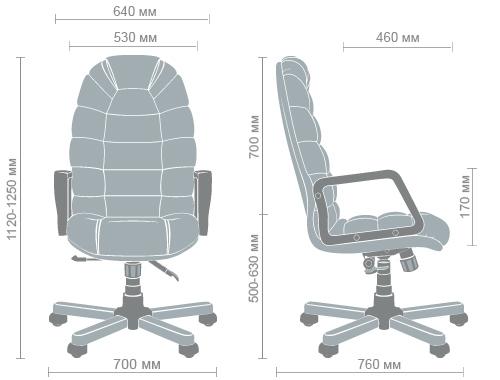 Размеры кресла Марракеш экстра AnyFix