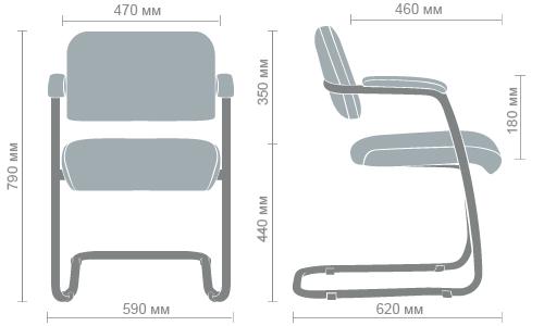 Размеры стула Гранд